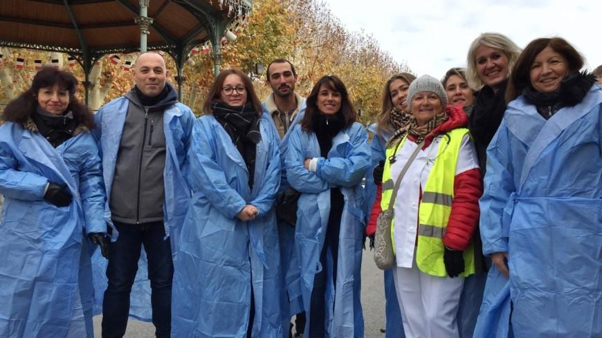 Alpes de Haute-Provence : grève infirmiers, « je n'ai pas signé pour faire des papiers, mais pour m'occuper des patients »