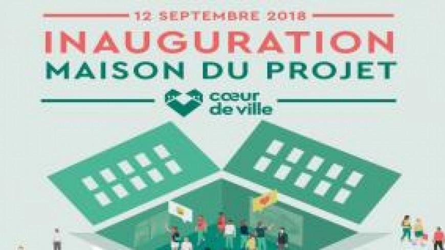 Près de chez vous avec L'inauguration de la Maison du projet du Cœur de ville de Briançon