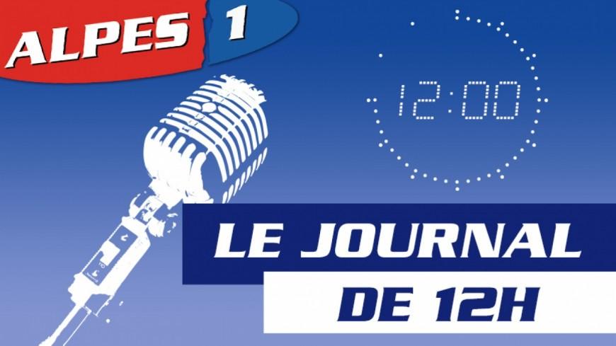 Le Journal Alpes 1 de 12h du Mercredi 3 Janvier 2018