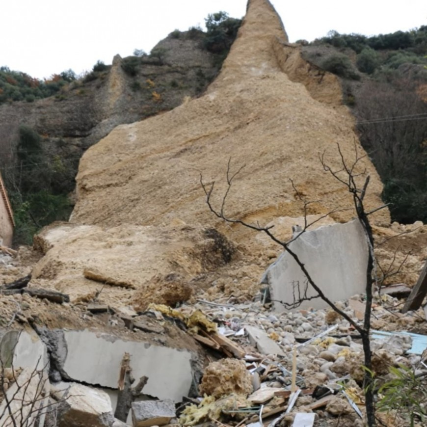 Le 8:30 : 1 an après l'effondrement d'un Pénitent aux Mées