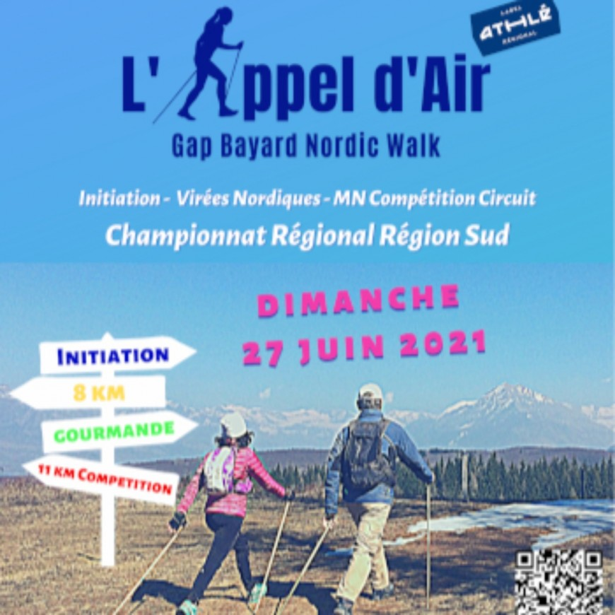 """Alpes 1 Magazine - Marche Nordique """"Appel d'Air"""""""