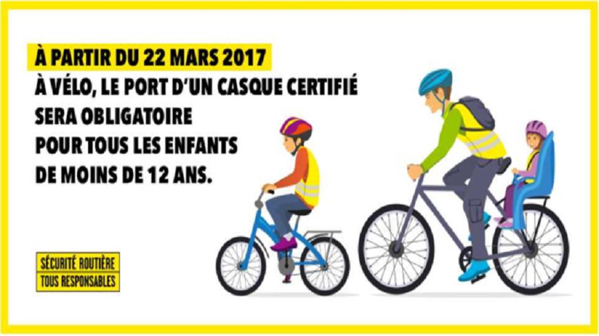 Alpes du Sud : Le port du casque à vélo obligatoire pour les enfants de moins de 12 ans à partir du 22 mars