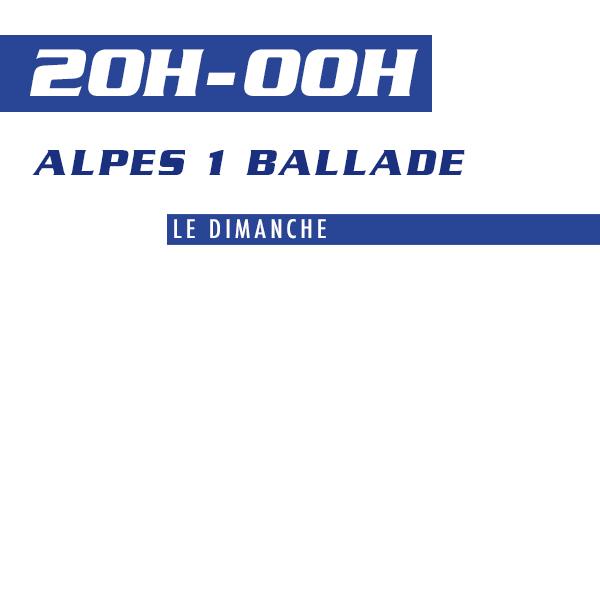 Alpes 1 Ballade