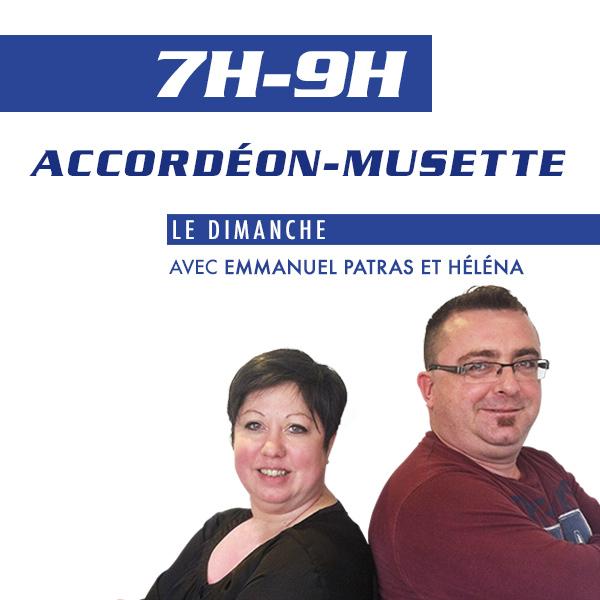 Accordéon et Musette avec Emmanuel Patras et Héléna.