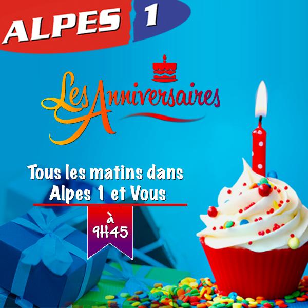 Les Anniversaires d'Alpes 1