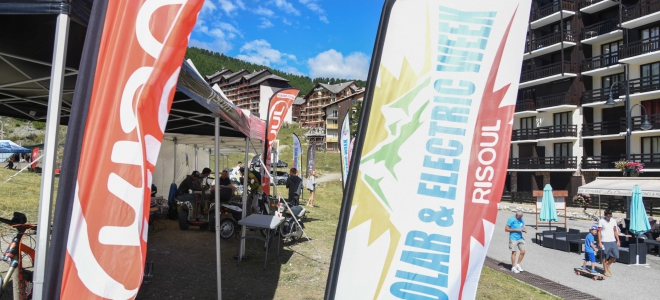 Hautes-Alpes : testez les déplacements électriques à Risoul
