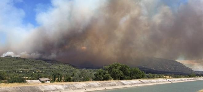 Alpes du Sud : l'A51 coupée suite à un incendie
