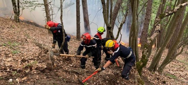 Hautes-Alpes : des groupes commandos envoyés sur l'incendie de la Roche-des-Arnauds