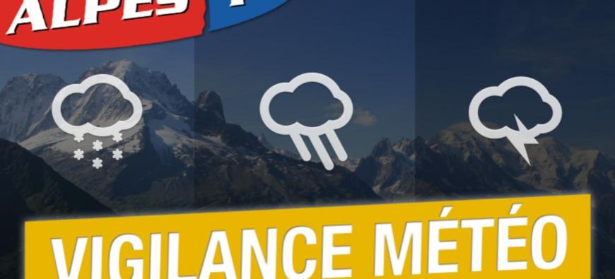 Alpes du Sud : vigilance jaune neige sur nos départements