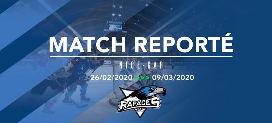 Hautes-Alpes : une semaine sans match pour les Rapaces de Gap