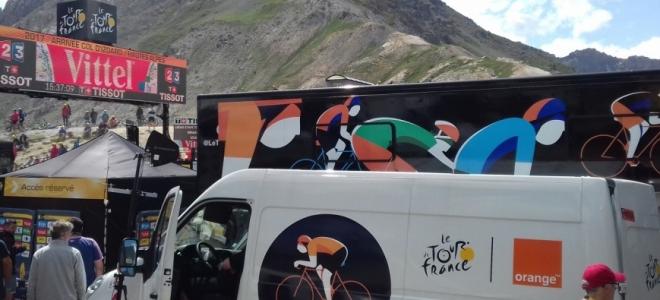 Alpes du Sud : dans les coulisses du Tour de France