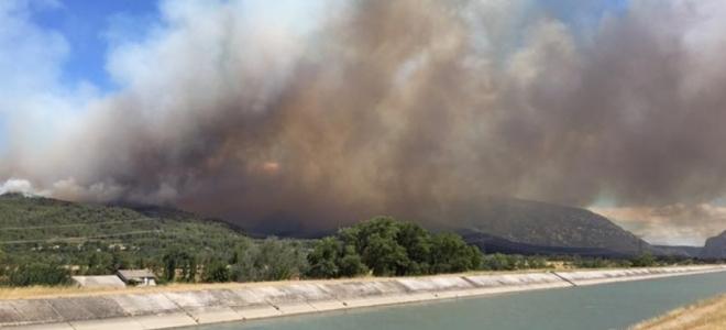 Alpes du Sud : 800 hectares de forêts brûlés