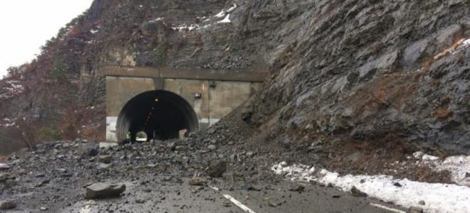 Alpes du Sud : le tunnel de Chaussetive restera fermé jusqu'à lundi soir