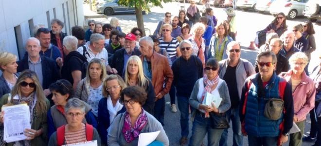 Alpes de Haute-Provence : mobilisation à Digne face à la suppression des contrats aidés