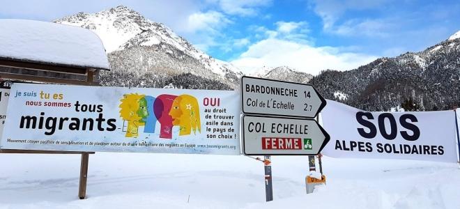 Hautes-Alpes : mobilisation contre la politique migratoire