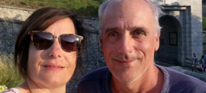 Hautes-Alpes : selfie, et ironie, au Fort de Briançon pour Philippe Poutou