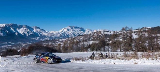 Alpes du Sud : Ogier remporte le 85ème Rallye Monte Carlo